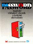 Password - anglický výkladový slovník s českými ekvivalenty - náhled