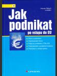 Jak podnikat po vstupu do EU - právo a podnikání - podnikatelské řízení - podpora podnikání v ČR a EU - podnikatelské a podpůrné instituce - podnikání a veřejná správa - náhled