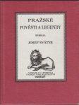 Pražské pověsti a legendy - náhled