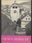 Čtení o Berouně 1265-1965 - sborník - náhled