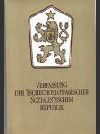 Verfassung der Tschechoslowakischen sozialistischen Republik - náhled