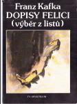 Dopisy Felici - (výběr z listů) - náhled