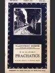 Vlastivědný sborník. Roč. 1912-13, svazek 9, Systematické monografie měst sv. 44, Prachatice - náhled