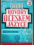 Druhé hovory o českém jazyce - náhled