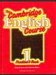 The Cambridge English course - student's book 1 - náhled