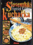 Slovenská kuchařka - náhled