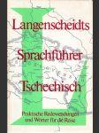 Langenscheidst Sprachfuhrer Tschechisch - náhled