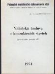 Vídeňská úmluva o konzulárních stycích - náhled