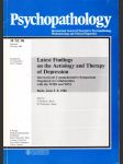 Psychopathology - Latest Findings on the Aetiology and Therapy of Depression - náhled