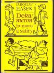 Dekameron humoru a satiry - náhled