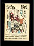 Prag 1975/76: Speisen, Getränken, Unterhaltung - Prague: food, drink, entertainment - náhled