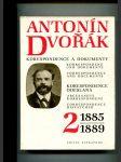 Antonín Dvořák - korespondence a dokumenty - kritické vydání. Svazek 2, Korespondence odeslaná 1885-1889 - náhled