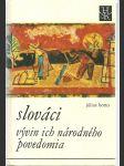 Slováci...vývin ich národného povedomia - náhled
