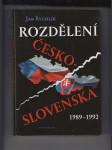 Rozdělení Česko-Slovenska 1989-1992 - náhled