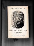 Pankrác Budecius, Kantor (Quasi legenda) - náhled