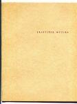 Nové obrazy Františka Muziky (Katalog - Výstavní síň Fronta 1963/1964) - náhled