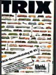 Trix - Gesamtkatalog 81/82 - náhled