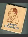 Baron Hejbrlin I., II. (Staré historie - 2 sv.) - náhled