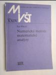 Numerické metody matematické analýzy - vysokoškolská příručka pro vysoké školy technické - náhled