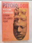 Psychologie - lexikon základních pojmů - náhled