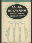 M. Jan Rokycana, obránce pravdy a zákona Božího - náhled