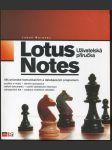 Lotus Notes : uživatelská příručka : váš průvodce komunikačním a databázovým programem - náhled