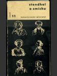 Stendhal o smíchu - úvahy o umění a společnosti - náhled