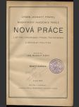 Nová práce - List pro organisaci práce, technickou a sociální politiku; ročník VI., 1924 - náhled