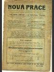 Nová práce - List pro organisaci práce, technickou a sociální politiku; ročník V., 1923 - náhled