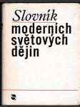 Slovník moderních světových dějin - náhled