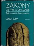 Zákony Asýrie a Chaldeje - pokračovatelé Chammurapiho - náhled