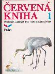 Červená kniha ohrožených a vzácných druhů rostlin a živočichů ČSSR. Díl 1, Ptáci - náhled