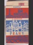 Památky a zajímavosti Prahy - náhled