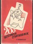 200 duševních čtvrthodinek - úlohy duševního sportu - se 130 veselými obrázky a řešením - náhled