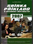 Sbírka příkladů k učebnici účetnictví II. díl - náhled