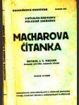 Macharova čítanka - náhled
