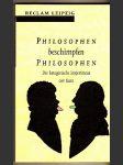 Philosophen beschimpfen Philosophen - náhled
