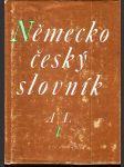 Německo český slovník - 2 svazky - náhled