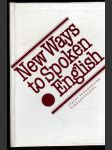 New Ways to Spoken English - náhled