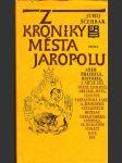 Z kroniky města Jaropolu - náhled