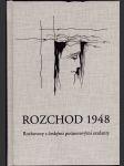 Rozchod 1948 - rozhovory s českými poúnorovými exulanty - náhled
