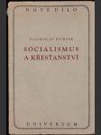 Socialismus a křesťanství - náhled