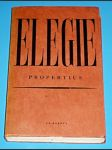 Elegie  (Propertius) - náhled
