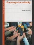 Sociologie žurnalistiky - náhled