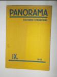 Panorama - kulturní zpravodaj ročník 9 + Zpravodaj družstevní práce - ročník 3 - náhled