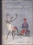 Opuštěná ves - Hyljätty kylä - román z Laponska - náhled
