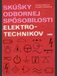 Skúšky odbornej spôsobilosti elektrotechnikov - náhled