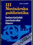 Novinárska publicistika III. - náhled
