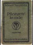 Pflanzenkunde - náhled