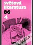 Světová literatura 4/1986 - náhled